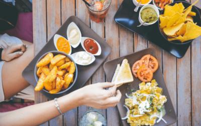 ¿Como aliviar la hinchazón después de las comidas?