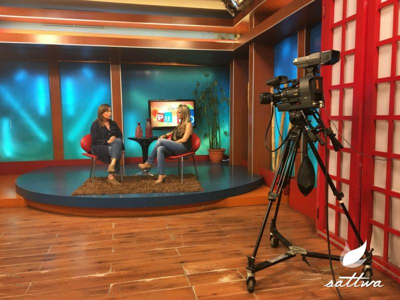 Ayurveda Sattwa Laura Vaca Pereira en Programa de TV En su Punto